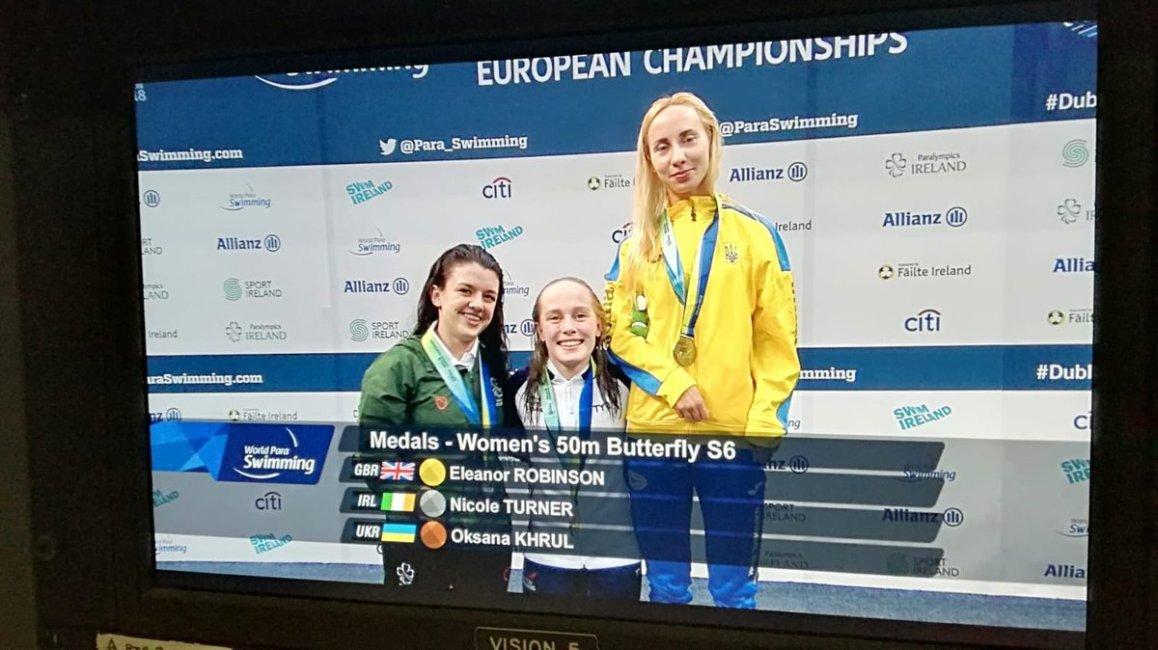 test Twitter Media - Nicole Turner wins Ireland's second medal of the @Paraswimming European Championships @ParalympicsIRE @AllianzIreland @swimireland @olympiccouncil  #Dublin2018 @nacdublin🥈 https://t.co/cwuWSVZoWG