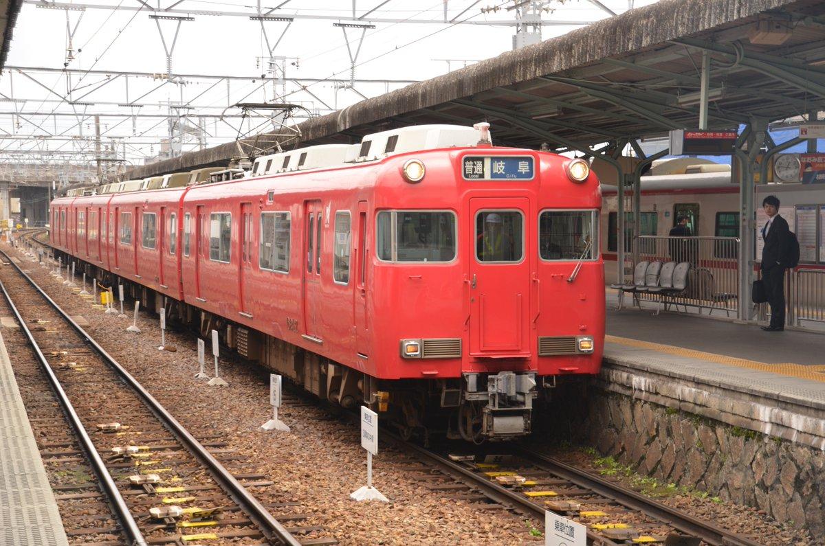 test ツイッターメディア - 赤い電車に乗って岐阜に行きたかった。 (写真は2017/4/1名鉄岐阜駅) https://t.co/7YfsJcKpmJ