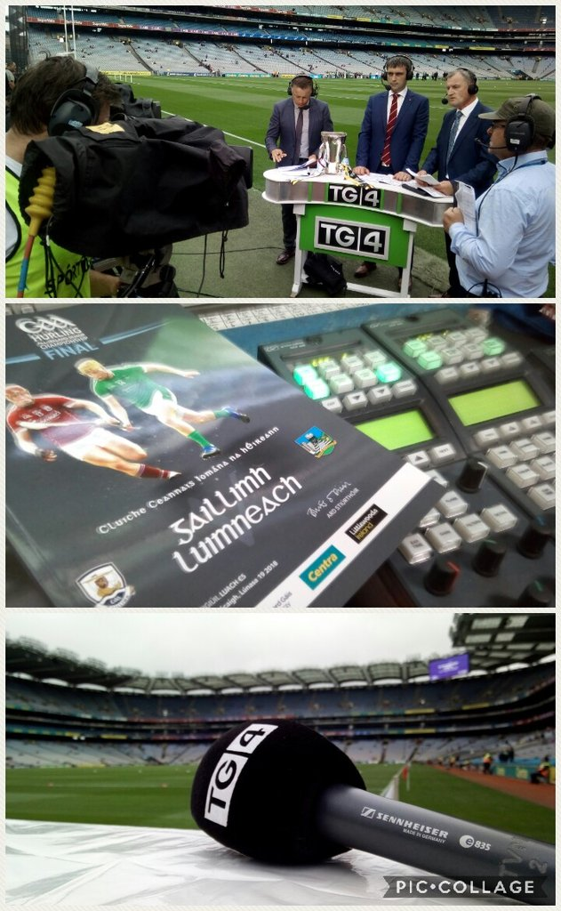 test Twitter Media - Live from Croke Park on @GAA_BEO it's  the All Ireland Hurling Minor final from 12:30. @nemetontv @SportTG4 https://t.co/TJ1H1oJ5Xf