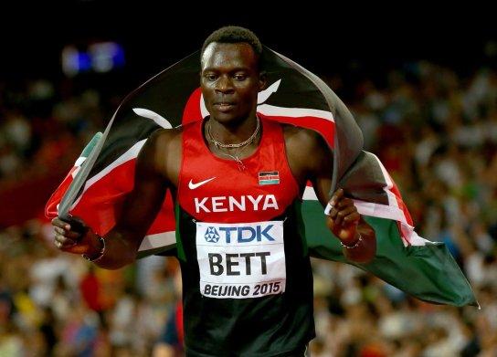 Image score for Kenya's Shaper 400m Hurdles World Champion This Aged 28 - Video