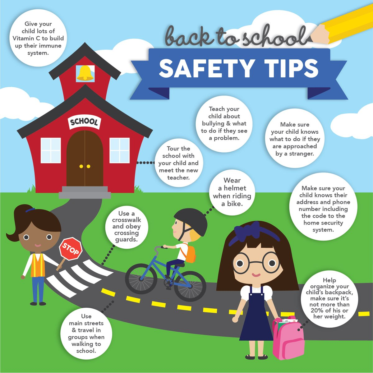 Bonita Usd On Twitter Great Safety Tips For Back To