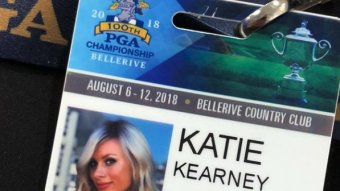 Katie Kearney Is Credentialed For The PGA Championship….Very Smart Move By The PGA
