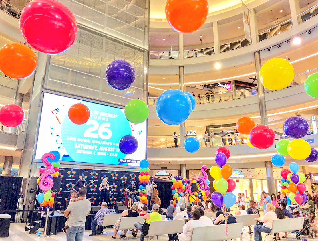 Mall Of America On Twitter Thanks For The Birthday Wishes How Awesome You Were Able To Celebrate The Grand Opening With Us