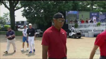 Sunday Tiger Showed Up At The PGA Championship With His Swag On A Trillion