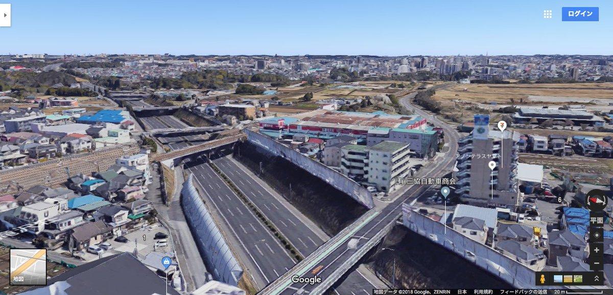 test ツイッターメディア - NHK でよく映っている東名高速道路の中継映像、この辺りだなぁ。大和トンネルの名古屋側、相鉄本線と交差する辺り。 https://t.co/ShE5pkkvNi https://t.co/ZSXl2MidAp