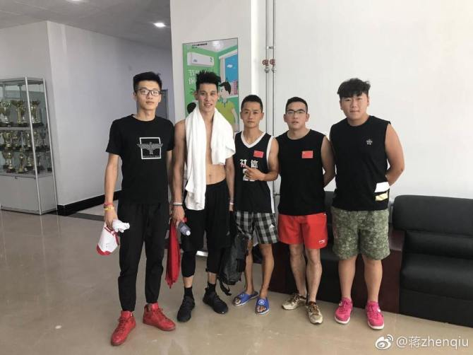 RT @penny10654 @JLin7 took pic with North China Institute of Science and Technology university's studens today in Beijing, China.