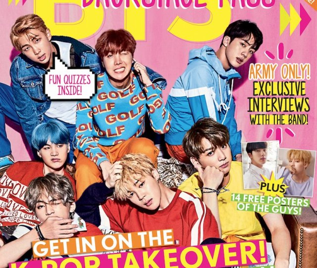 Btsarmy You Are Seriously In For A Treat Our Special Edition Magazine