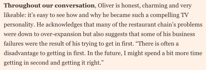 test Twitter Media - This frank interview with Jamie Oliver, about overreaching in business and his annus horribilis, is a good read https://t.co/SZeKCjizGy https://t.co/W5XxsukXHY