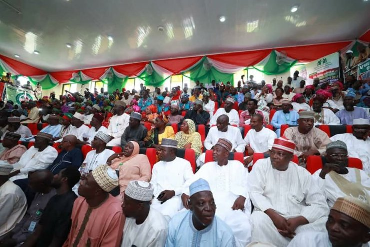 PHOTOS: Atiku Meets PDP Leaders In Minna
