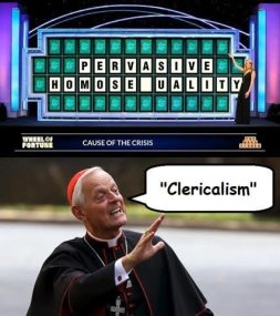 Image result for Wuerl clericalism meme