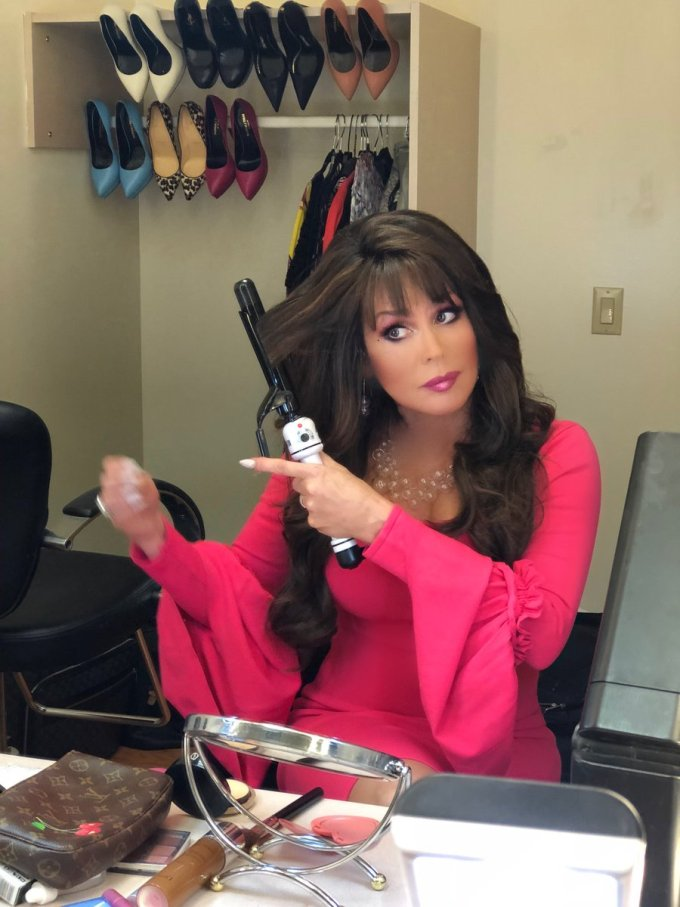 """marie osmond on twitter: """"last-minute touchups before"""