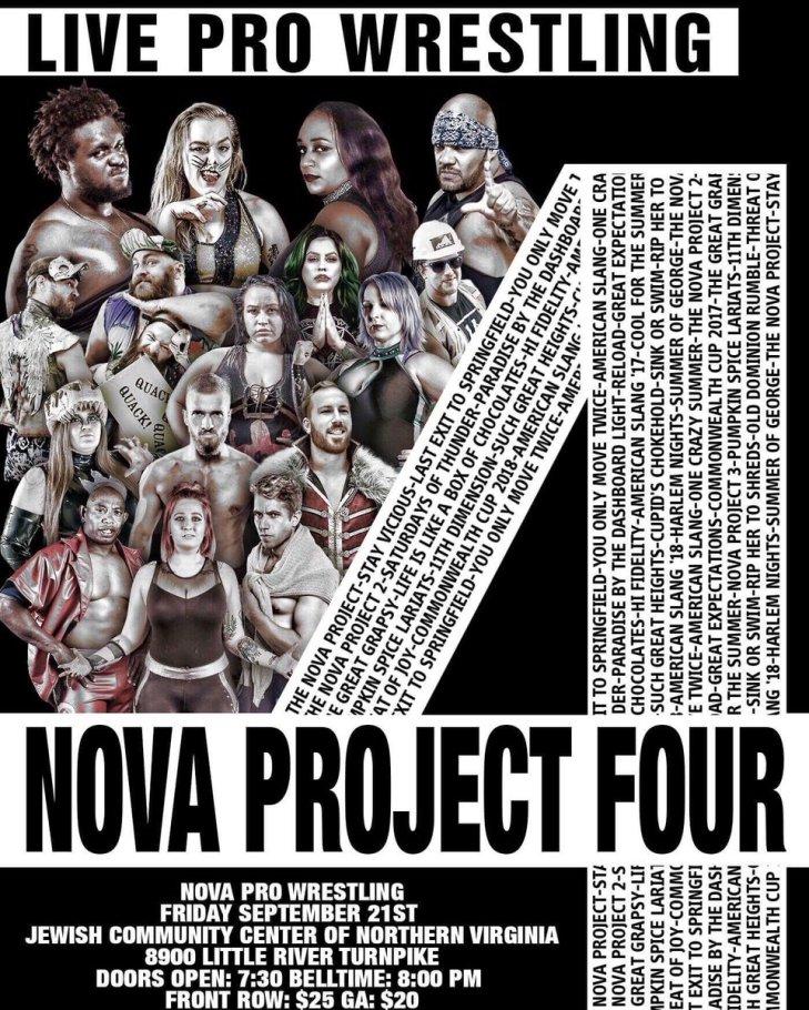 Nova Pro Nova Project 4