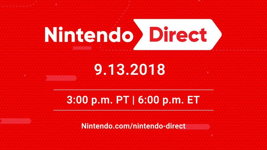 Delayed Nintendo Direct