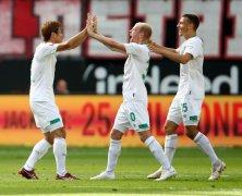 Video: Eintracht Frankfurt vs Werder Bremen