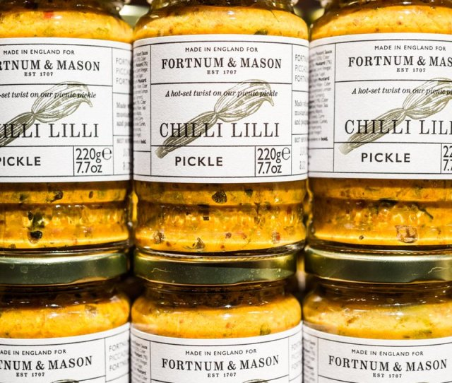 Fortnum Mason On Twitter A Hot To Trot Twist On A Classic Our Chilli Lilli Pickle Is Made With Hot Mustard Crunchy Vegetables And Jalapeno Chilli