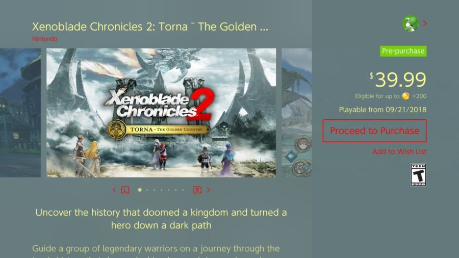 Xenoblade Chronicles 2 Torna download size