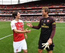 Video: Arsenal Legends vs Real Madrid Legends