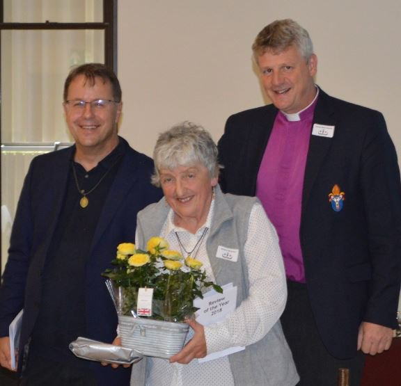 Presentations were made to the charity's two retiring Trustees Mrs Barbara Molyneux from @ChesterDiocese and Ven Chris Liley former Archdeacon of…