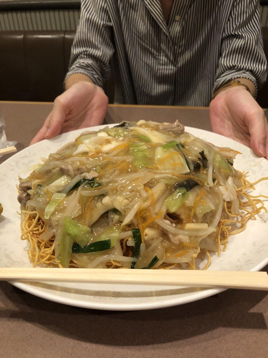 test ツイッターメディア - 横浜線の中山駅にある好々亭さんで名物のかた焼きそばを食べてきた!店内にはビーコルの開幕戦のポスターも貼ってありました! https://t.co/xEozBvxFUB