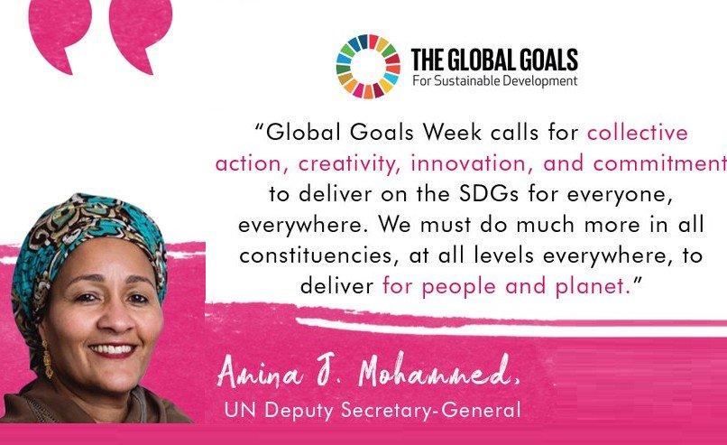 If you're in Dublin today, pop along to O'Connell Bridge at one to mark the third birthday of the #SDGs These goals can only be radical and powerful with people pushing their implementation. #Act4SDGs #Volops