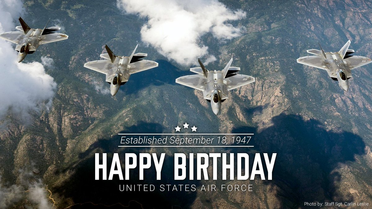 Red Storm On Twitter Happy Birthday Airforce