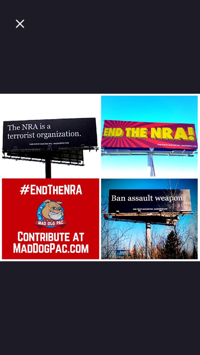 For some reason these billboards generate the most death threats. https://t.co/g2orQLd0n7