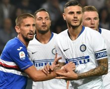 Video: Sampdoria vs Inter Milan