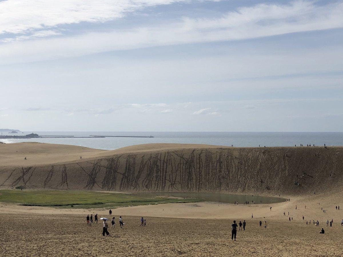 test ツイッターメディア - 旅の途中に、ふらっと寄った鳥取砂丘 https://t.co/KWkaaEF29Q