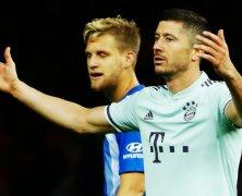 Video: Hertha BSC vs Bayern Munich