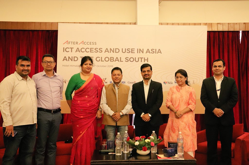 Expert panel on AfterAccess ICT access and use in Nepal