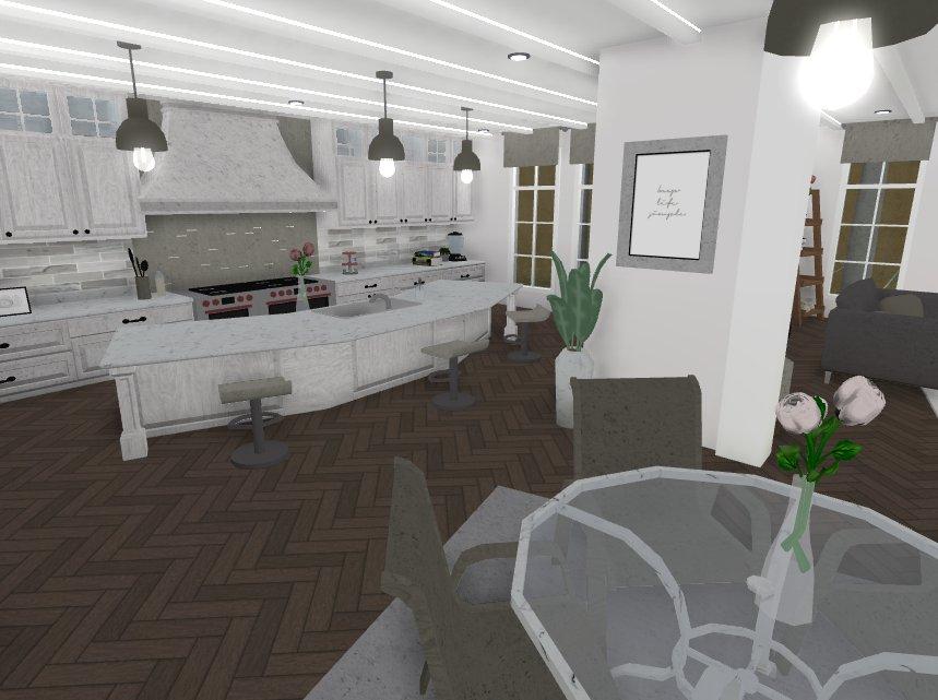 Aesthetic White Kitchen Aesthetic Bloxburg Kitchen Ideas Novocom Top