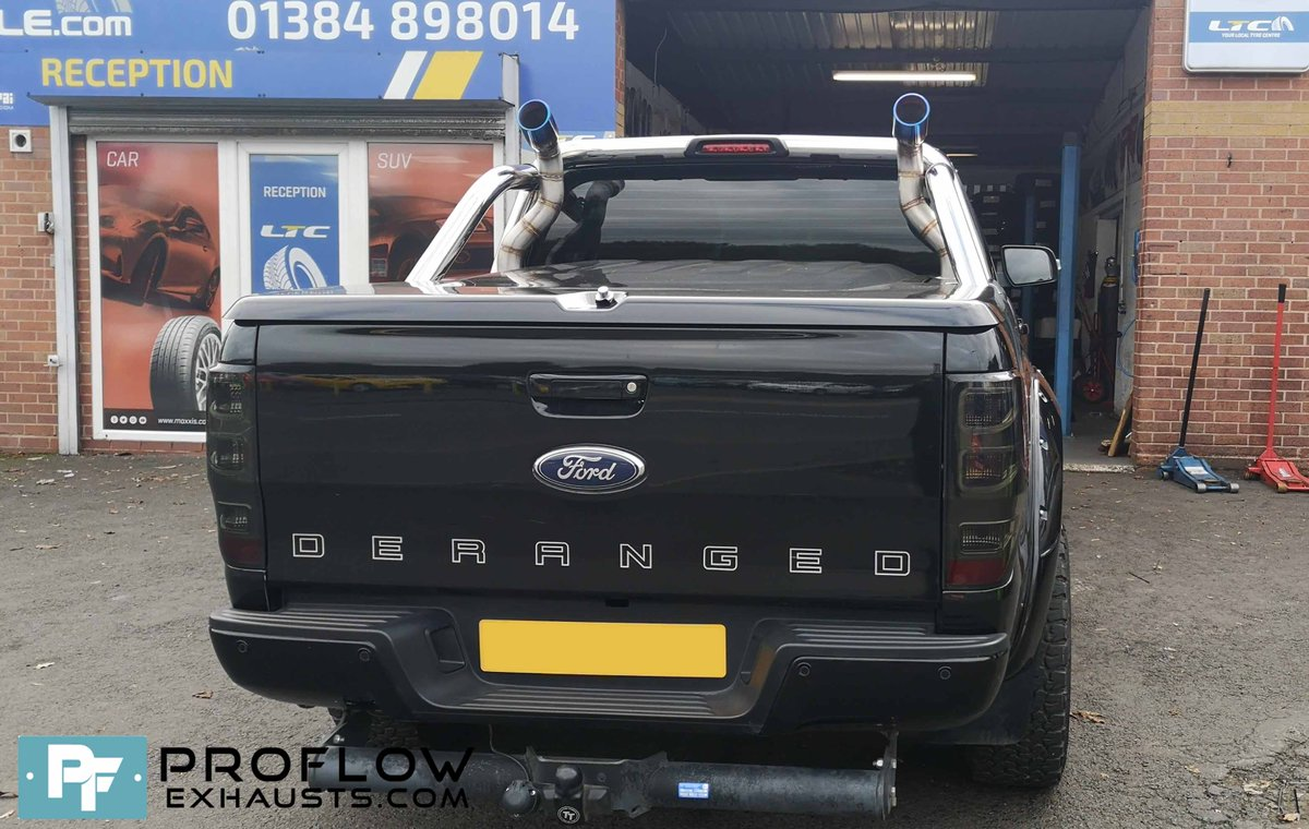 ford ranger fitted with custom built