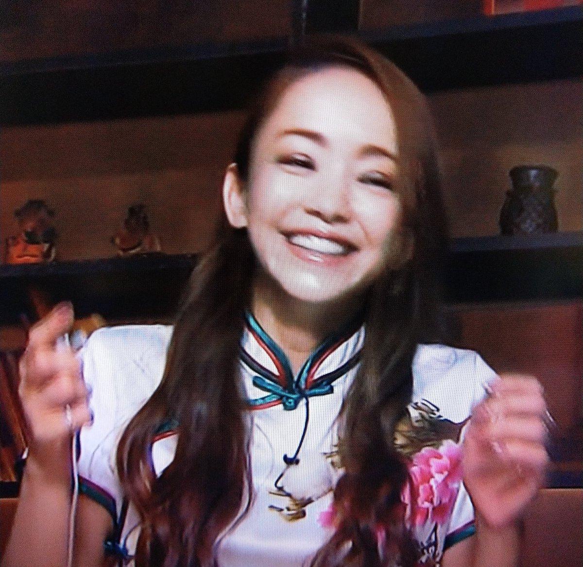 test ツイッターメディア - 朝から久しぶりにイッテQ!安室ちゃんSPを見ました~!安室ちゃんの笑顔はホントに可愛くて綺麗でいつでも癒される✨ついついこっちまで笑顔にさせられる😊笑顔で始まった1日は気分がいい~♪この笑顔を引き出したイッテQ!とイモトさんに感謝😆 https://t.co/WfxOaArAUX