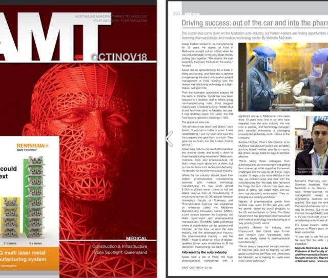 Read What Amteditor Had To Say In The Oct Nov Edition Of Australian Manufacturing Technology Magazine Our Now