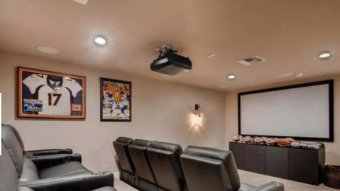 Brock Osweiler Is Selling His Arizona House With Awesome Home Theater