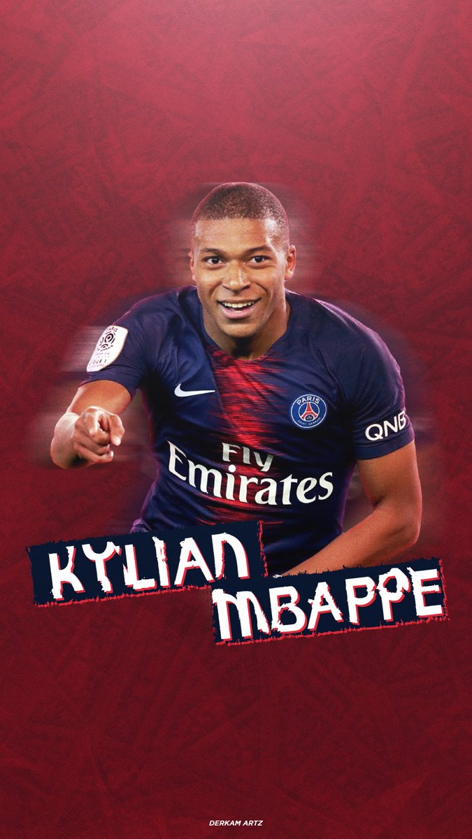 mobile wallpaper mbappe psg