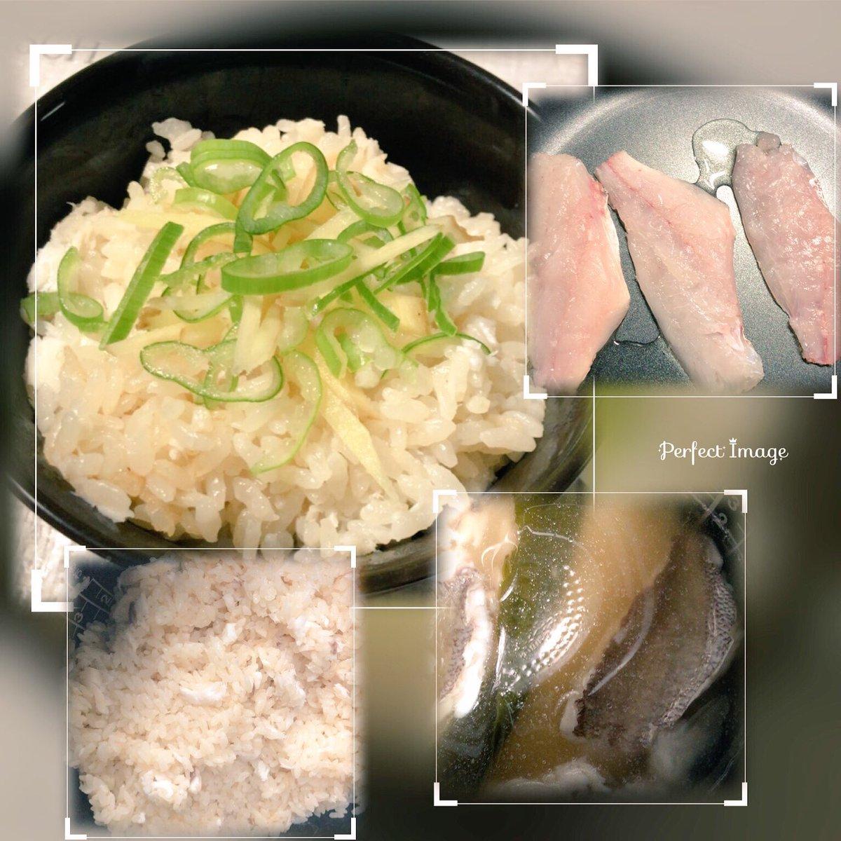 test ツイッターメディア - 日中ツイートした鯛料理できました。 鯛めし🐟これだけじゃつまらないので皮と骨と鰹節から出汁作ってお茶漬けにしました❣️ 調べて買い物行ったのに三つ葉忘れるとゆう...瀧くんのせいだ!!  はじめてにしては凄く美味しく作れました(,,・ω・,,) https://t.co/nd5Nr2XM9m