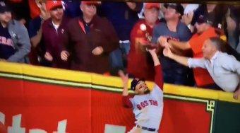 Was It Fan Interference By Astros Fan Troy Caldwell?