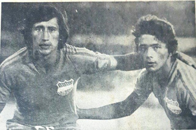 """Antonio Ubilla on Twitter: """"Barbosa y Cotto en CS Emelec 1975… """""""