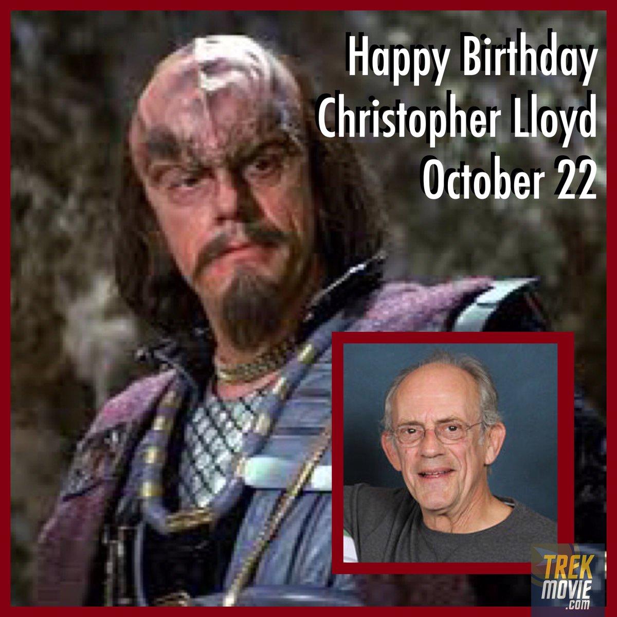 Trekmovie Com בטוויטר Happy 80th Birthday To Docbrownlloyd Aka Klingon Commander Kruge Who Had Kirk S Son Murdered In Star Trek Iii The Search For Spock Startrek Taxi Reverendjim Backtothefuture Christopherlloyd Https T Co Eyghhsdcqz