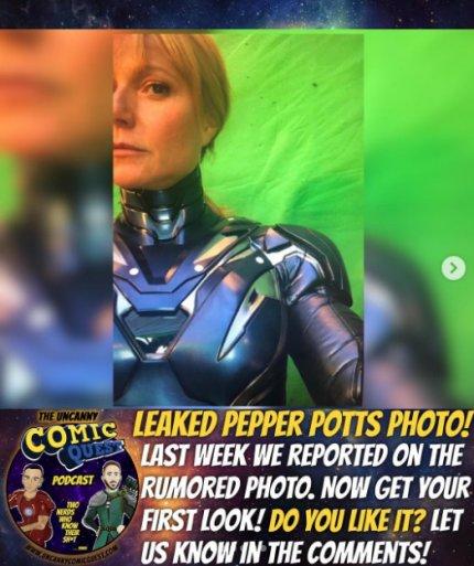 Armadura de Pepper Potts
