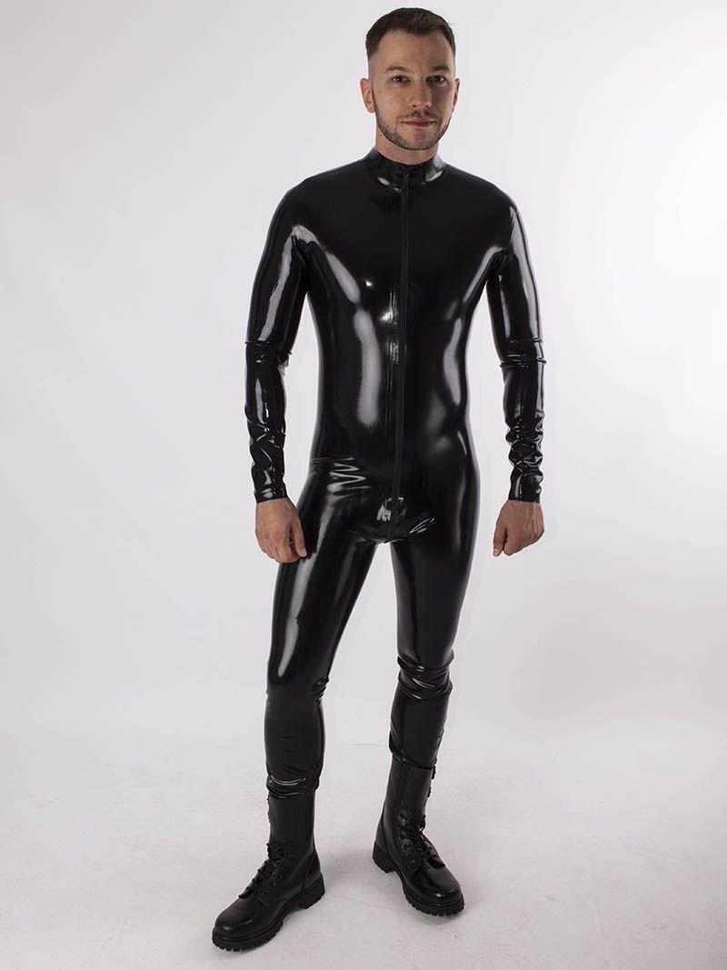 latex noir pour rob paris