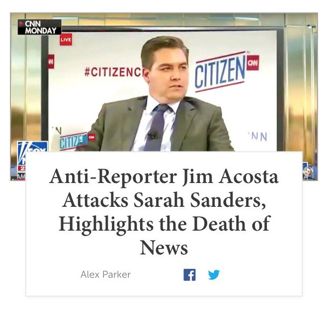 Jim Acosta Is Not A Reporter Im Disturbed That That Word Is Used To Describe Him Hes A Commentator Reporting Isnt Something He Knows How To Do