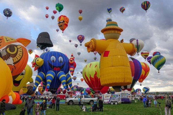 Image result for albuquerque balloon fiesta special shapes