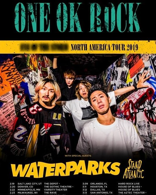 test ツイッターメディア - America tour 2019‼  Japan tourは、いつなの⁉️  #ONEOKROCK #ワンオク  #10969 #Americatour2019 #taka #toru #tomoya #ryota https://t.co/TYVZ3jLHNG