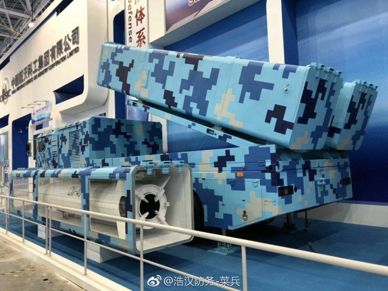 8x8 truck-based launcher of CM-401 anti-ship ballistic missile.