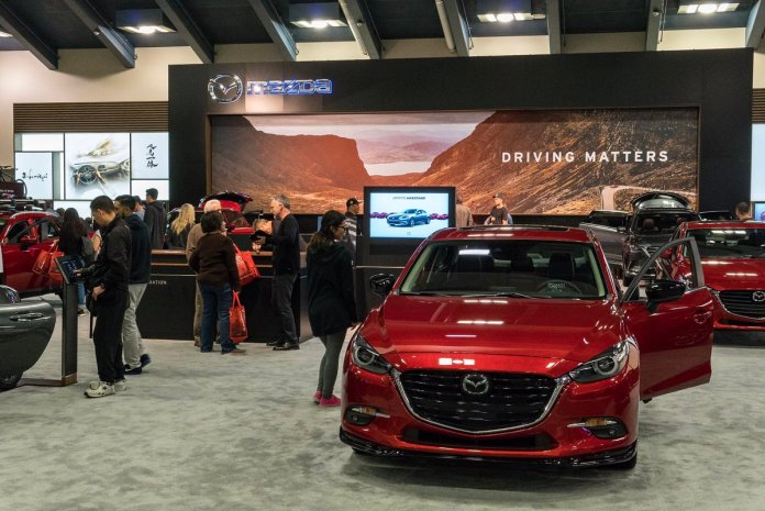 Image result for 2018 sf auto show moscone center