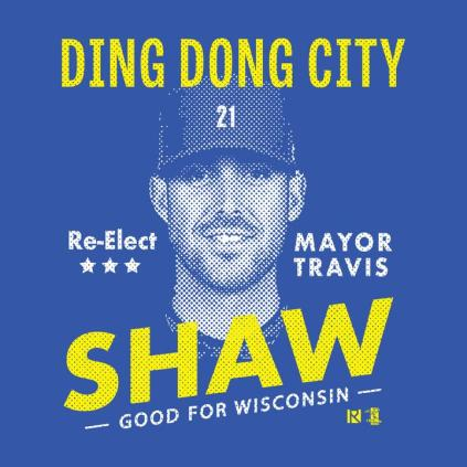 Image result for travis shaw mayor of ding dong city jpg