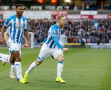 Video: Huddersfield Town vs West Ham United