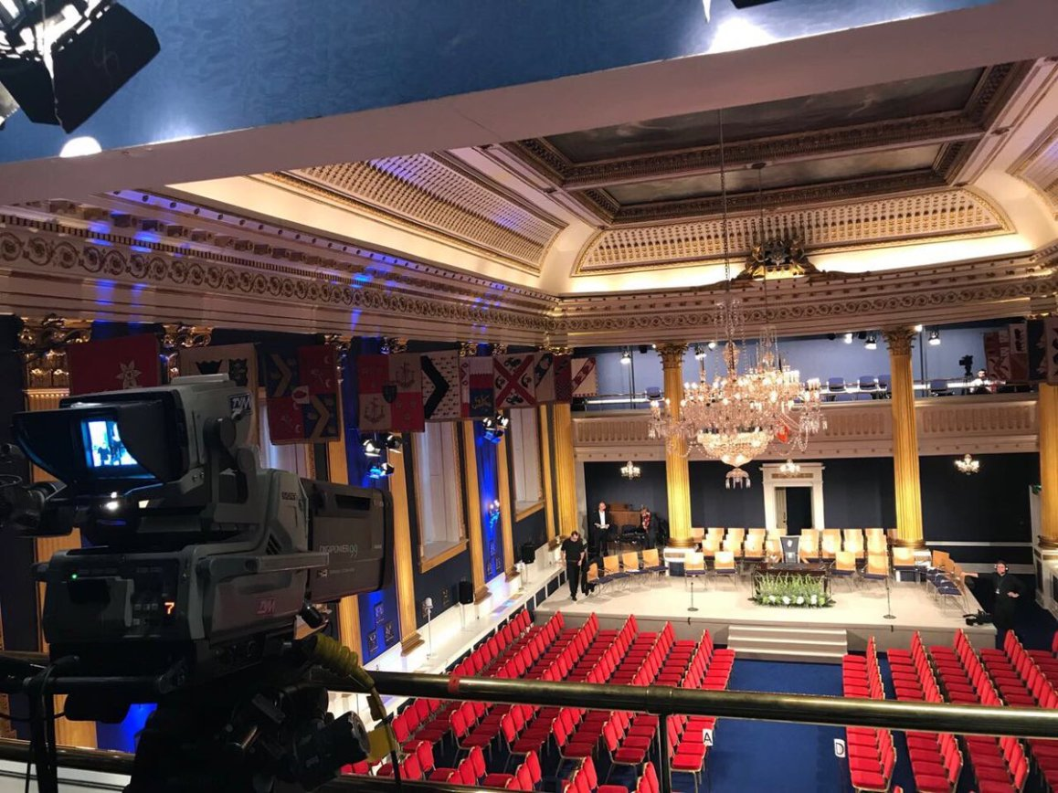 test Twitter Media - We are in Dublin Castle for the Presidential Inauguration on @rte https://t.co/LTSkKQ5uer